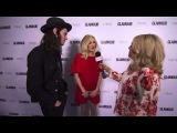 Fearne Cotton and James Bay Backstage Interview Glamour Awards 2015