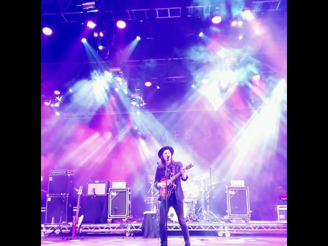 """Kate Matthews on Instagram: """"@jamesbaymusic cover of aliciakeys If I Ain't Got You. 🎤💛 parklife jamesbay manchester parklife2015 live bigtop heatonpark"""""""