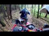 Irbis TTR 250R и Irbis TTR 125R - На поиски заброшенного лесничества