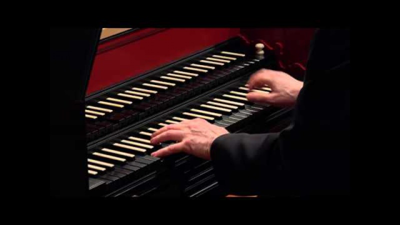 J.S. Bach The Art of Fugue (BWV 1080), Contrapunctus VIII Davitt Moroney, harpsichord 4K UHD