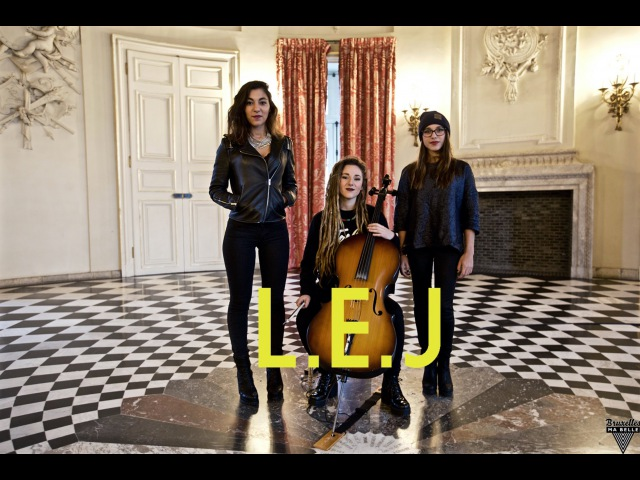 L.E.J - CANT HOLD US - Macklemore Cover - Acoustic Session - Bruxelles Ma Belle 12