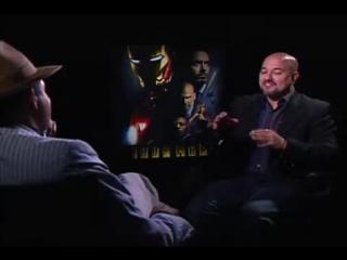 Железный человек/Iron Man (2008) Интервью Терранса Ховарда
