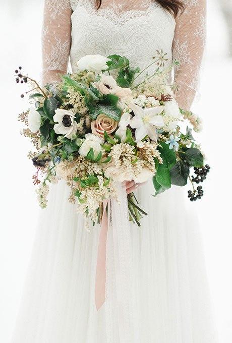 WAWfDIJSS8I - 18 Лучших зимних свадебных букетов сезона 2015-2016