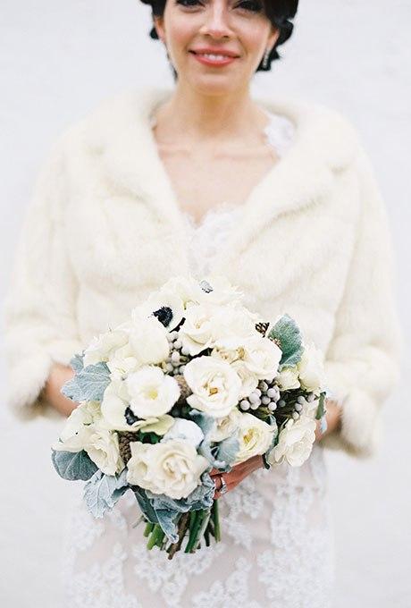 4CZCB6bpBMo - 18 Лучших зимних свадебных букетов сезона 2015-2016
