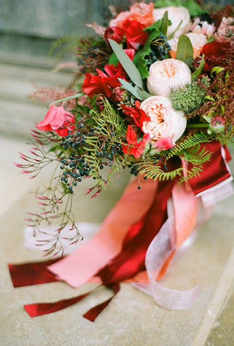 QThuyBate6w - 18 Лучших зимних свадебных букетов сезона 2015-2016