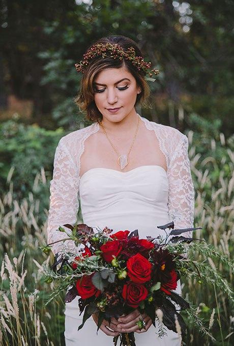 7mBRuUyD55A - 18 Лучших зимних свадебных букетов сезона 2015-2016