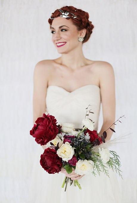 Eyj5dTd2w7A - 18 Лучших зимних свадебных букетов сезона 2015-2016
