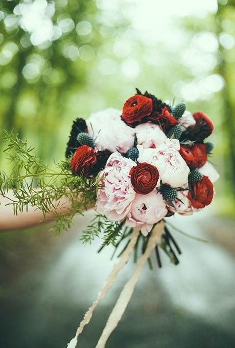 lgaxyHQKpfo - 18 Лучших зимних свадебных букетов сезона 2015-2016