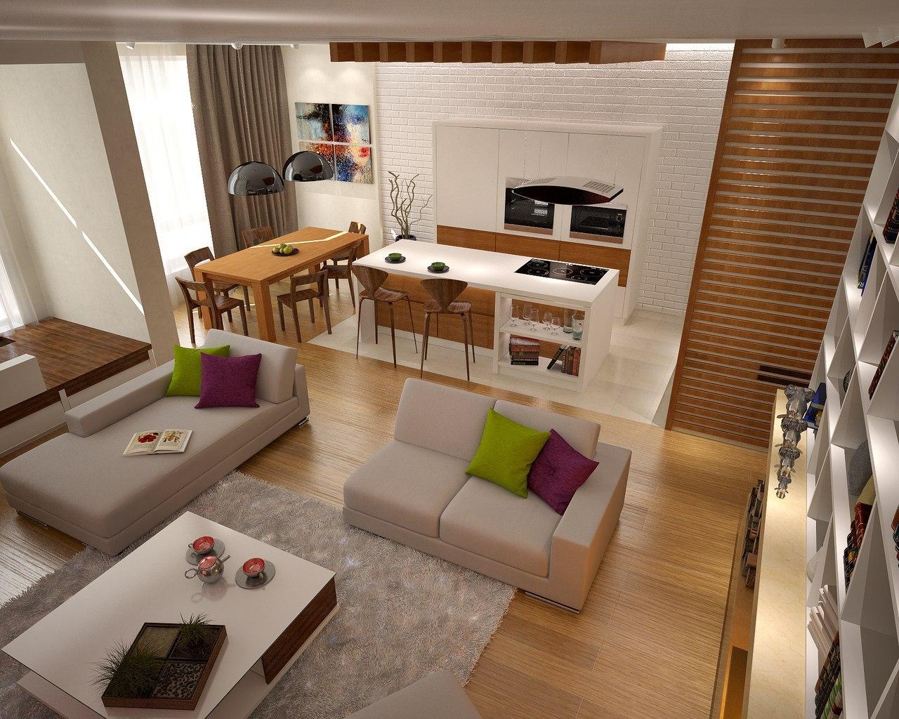 Дизайн помещений жилой