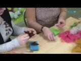 HandMade с Людмилой Смирновой. Тема Сухое валяние объемной игрушки