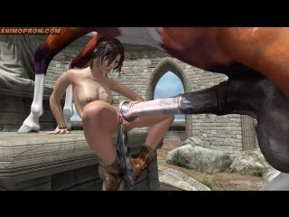 lara порно с конем фото
