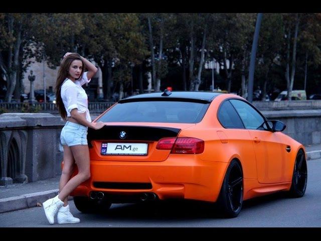 BMW M3 E92 Orange Matte - Wrapping www.AM.ge