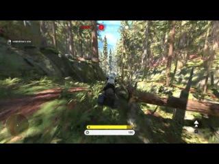 Гонки на спидерах, игра за Вейдера - Star Wars: Battlefront 60FPS