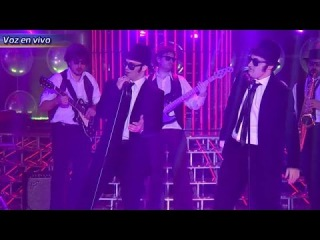 Benjamin Rojas y Felipe Colombo son The Blues Brothers en Tu Cara Me Suena