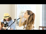 Ariana Grande - The Way &amp Baby I acoustic with Dan Kanter