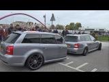 Audi RS4 Avant B5 with RS4 Trailer