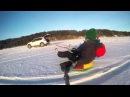 Snow Tubing with Mazda CX5 | Катание на ватрушке за машиной