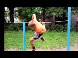 СТРИТ ВОРКАУТ, тренировка на уличной площадке / STREET WORKOUT, training in the outdoor area