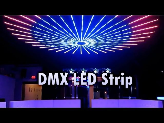 DMX LED Strip by SIRS-E® Installed at Shine Club McAllen TX