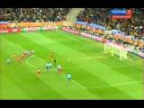 Красивейший момент ЧМ 2010 по футболу в ЮАР  Уругвай Гана