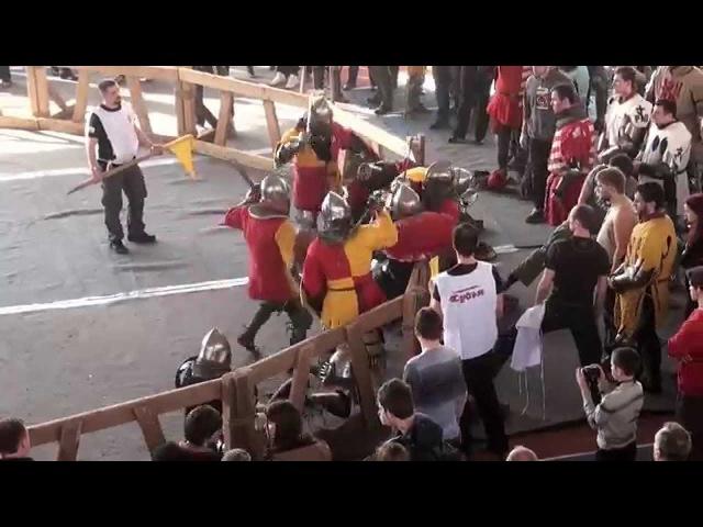 ПРАДАР 2015 9 fight Партизан 2 vs Засадный Полк