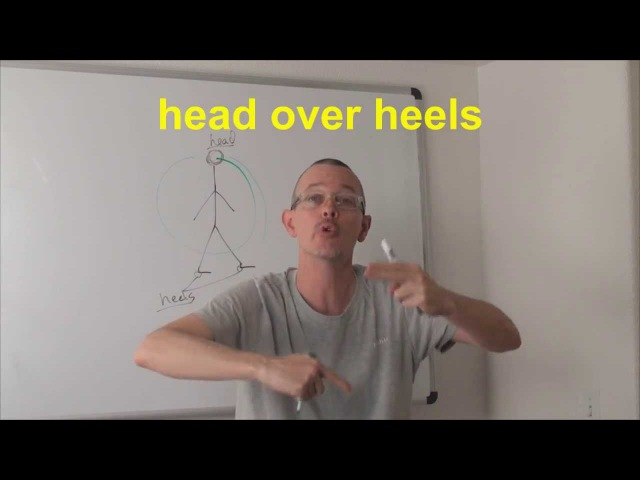Learn English Daily Easy English Expression 0413 head over heels