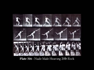 Muybridge's Male Nude Locomotion