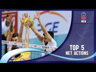 Stars in Motion Episode 6 - Top 5 Net Actions - 2016 CEV DenizBank Volleyball Champions League - Men