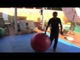 Jeff Glover and the Stability Ball