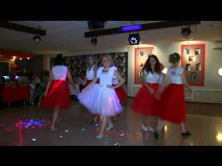 Танец на свадьбе. Подружки невесты. Марина и Андрей 01.08.2015