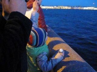 Салют в честь 70-летия Победы в Санкт-Петербурге. Ч.1