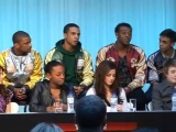 Cheryl Cole at X Factor Final Press Conference 11.12.2008 Part 2
