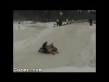 10 фейлов на снегоходе