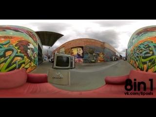 Гугл и Ютуб запустили панорамные видео с обзором 360 градусов  Time Couch - VR Demo by StressLevelZero  Google-YouTube