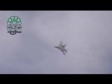 26.03.2014 Сирия. Миг-29 работает из пушки ГШ-301. - YouTube