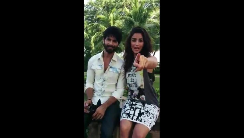 J в Твиттере @aliaa08 and @shahidkapoor shoot for the Filmfare cover tco qzLaOORzQr