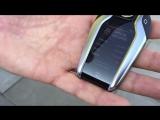 Демонстрация нового ключа пульта зажигания с автоматической парковкой BMW 7 серии G11 G12 2016