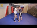 Тайский бокс Работа в клинче скрутка
