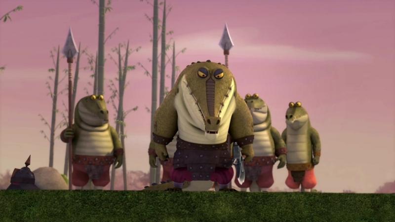 Фунг Кроко-Бандиты А можно мне в кустики ?