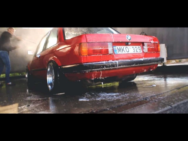 The Red BMW E30 / Kaunas, Lithuania