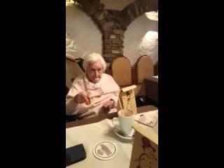 Oma - Prost, Heil Hitler / Grandma Drinking to Hitler