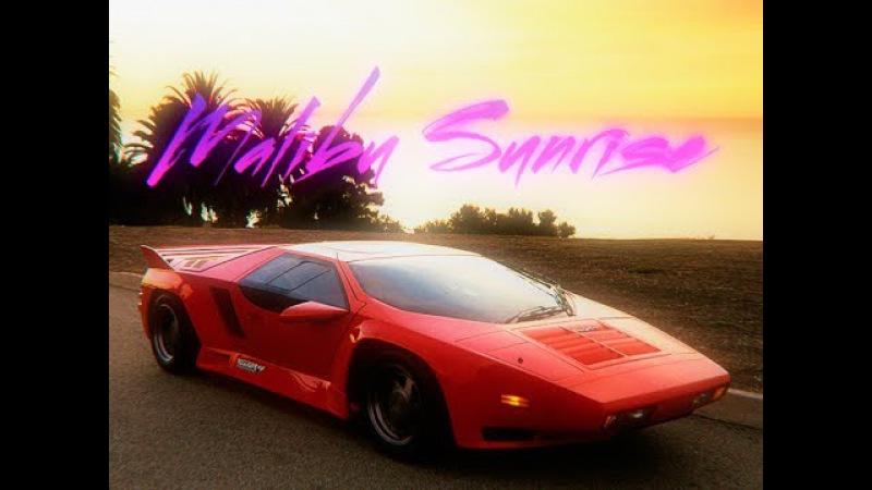 LUEUR VERTE - Malibu Sunrise