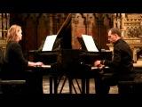 Piazzolla  Oblivion 2 pianos  A. Vanlerberghe et G. Rattez