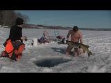 Рыбалка зимой по трофейной щуке)))