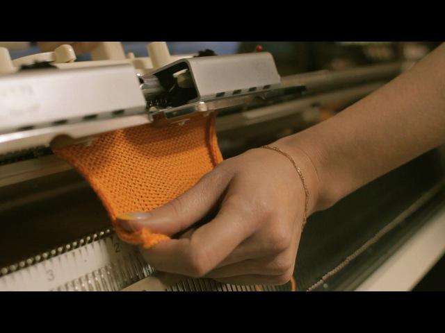 Машинное вязание: Урок №1 - Автоматический набор петель