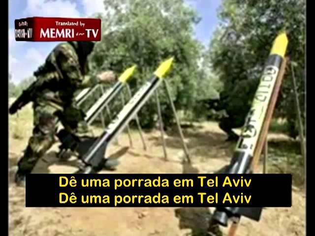 Porrada em Tel Aviv - Video do Hamas - O outro lado da guerra