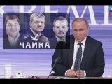 Путин о генеральном прокуроре Юрие Чайка и его сыновьях
