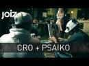 Cro hört seine Songs privat. Schulgeschichten. - 2 Die Psaiko.Dino Show 09.01.2015 - Cro