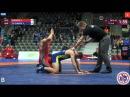 GOBADZE GEO FILCHAKOV UKR 1 4 Final GR 80 kg U23 European Championship 201