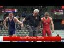 GOBADZE GEO KOURINNOI SWE 1 8 Final GR 80 kg U23 European Championship 2016